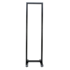 "Conteg RS series 19"" two post open frame, height 42U. Consists of: 1pc of RS-42, 1pc of RS-P"