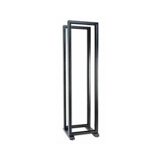 "Conteg RS series 19"" four post open frame, height 42U. Consists of: 2pcs of RS-42, 1pc of RS-P"