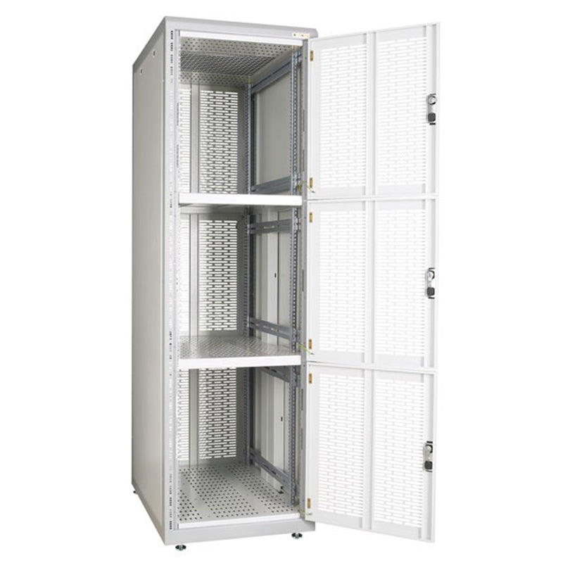 Conteg RSB series 42U 600x900 rack(three compartments - useful height of each compartment 13U)