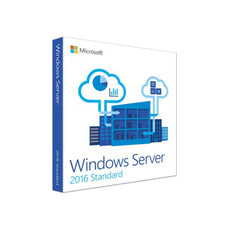 Microsoft MS 1x Windows Server Standard 2016 64Bit DVD 24 Core English (EN)