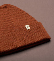 Merino Beanie Rusty, made in Switzerland