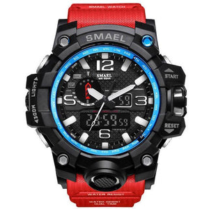 Big Rug Military Sports Watch Waterproof Night Luminous LED Light - agearpie