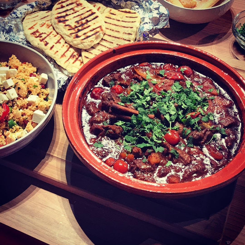 Moroccan Lamb Tagine - Serves 4-6
