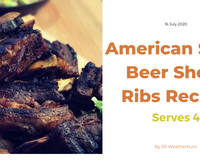 American Style Beer Short Ribs Recipe - Serves 4 People