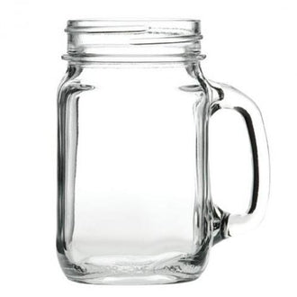 Mason 16oz / 450ml Drinking Jam Jar  - Pack of 12