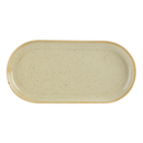 "Porcelite Seasons Wheat Narrow Oval Plate 32 x 20cm / 12 ½"" x 8"" - Pack of 6"