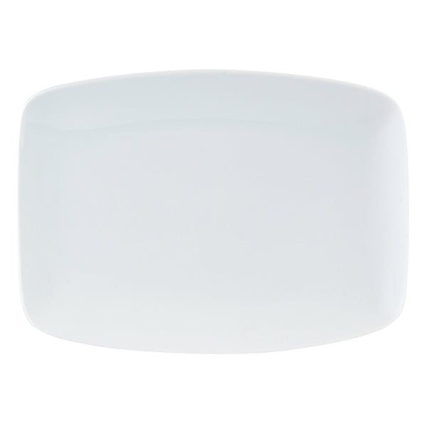 Porcelite Rectangular Plates 27 x 10cm / 10½ x 7¾ - Pack of 6