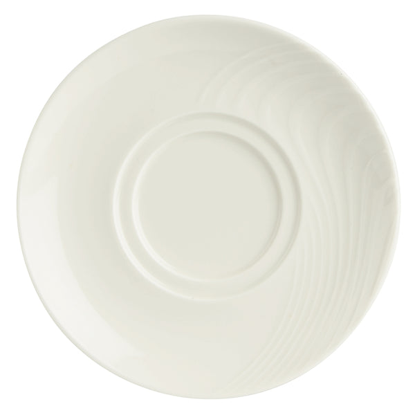 Academy Elation Saucer Plates - Pack of 6