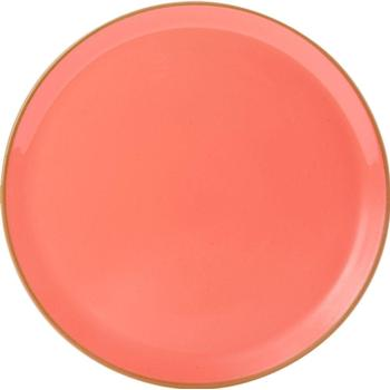 "Porcelite Seasons Coral Pizza Plate 28cm / 11""   - Pack of 6"