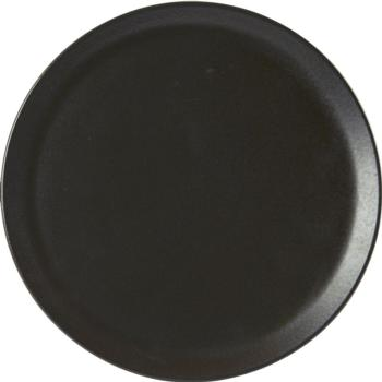 "Porcelite Seasons Graphite Pizza Plate 28cm / 11"" - Pack of 6"