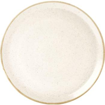 "Porcelite Seasons Oatmeal Pizza Plate 32cm / 12 ½"" - Pack of 6"