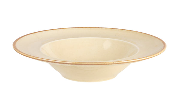 "Porcelite Seasons Wheat Pasta Plates 30cm / 12"" - Pack of 6"