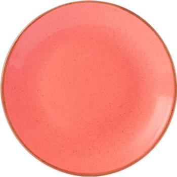 Porcelite Seasons Coral Coupe Plates 18cm / 7'' - Pack of 6
