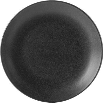 Porcelite Seasons Graphite Coupe Plates 18cm / 7'' - Pack of 6