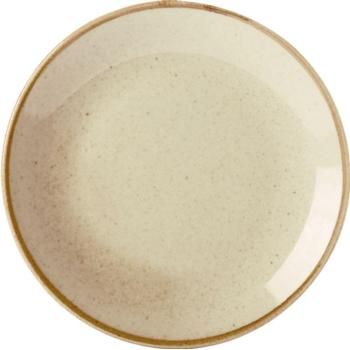 Porcelite Seasons Wheat Coupe Plates 18cm / 7'' - Pack of 6