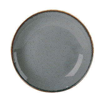 Porcelite Seasons Storm Coupe Plate 24cm - Pack of 6