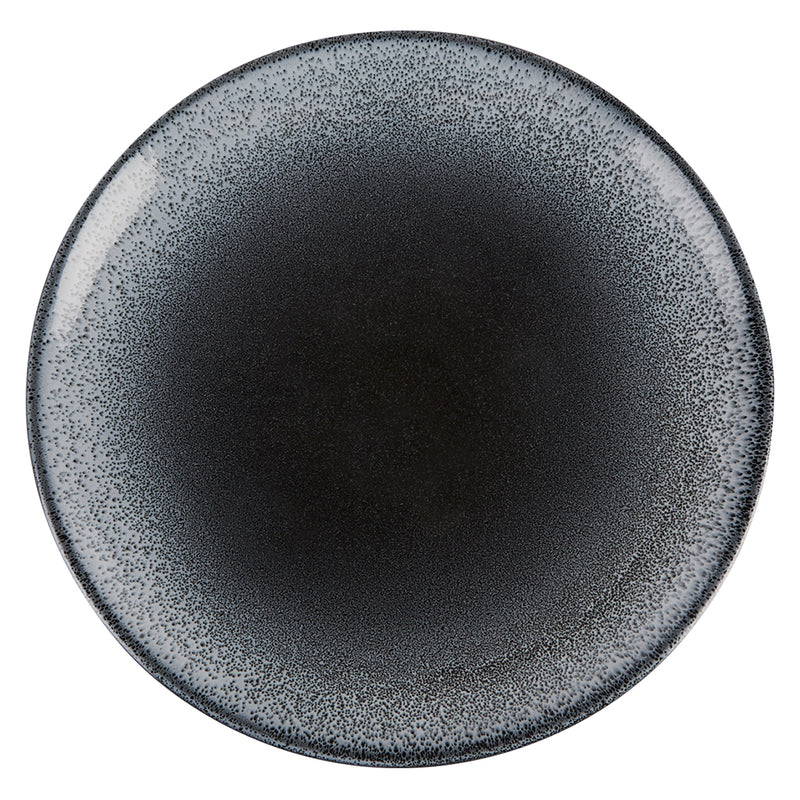 "Porcelite Aura Flare Coupe Plates 17cm / 6 ½"" - Pack of 6"