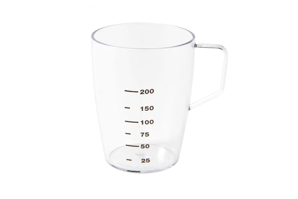 Clear Graduated Beaker with Handle 280ml / 10oz