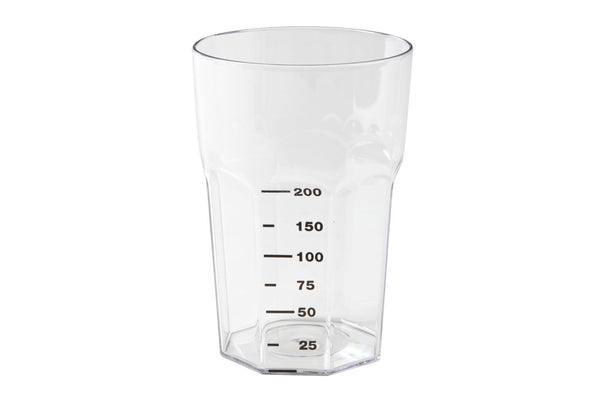 Clear Graduated Tumbler – 340ml