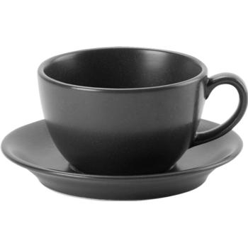 Porcelite Seasons Graphite Bowl Cups 34cl / 12 oz - Pack of 6