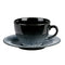 "Porcelite Aura Flare Bowl Shaped Cup Saucers 16cm / 6 ¼"" - Pack of 6"