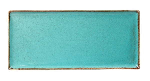 "Porcelite Seasons Sea Spray Rectangular Platters 35cm x 15.5cm / 13 ¾"" x 6"" - Pack of 6"