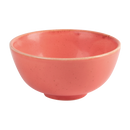 "Porcelite Seasons Coral Rice Bowl 13cm (31cl) / 5"" (11 oz)  - Pack of 6"