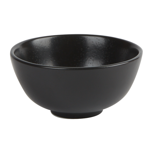 "Porcelite Seasons Graphite Rice Bowl 13cm (31cl) / 5"" (11 oz)  - Pack of 6"