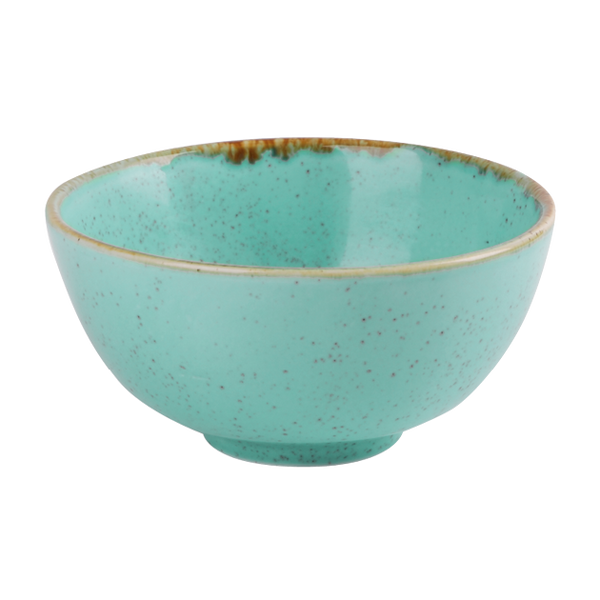 "Porcelite Seasons Sea Spray Rice Bowl 13cm (31cl) / 5"" (11 oz)  - Pack of 6"