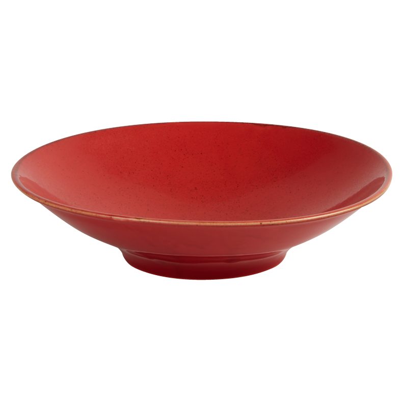 "Porcelite Seasons Magma Footed Bowl 26cm / 10 ¼"" - Pack of 6"