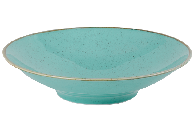 "Porcelite Seasons Sea Spray Footed Bowl 26cm / 10 ¼"" - Pack of 6"