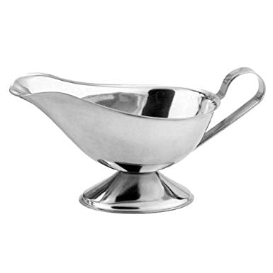 Sauce Gravy Boat Stainless Steel 5oz - Pack of 12