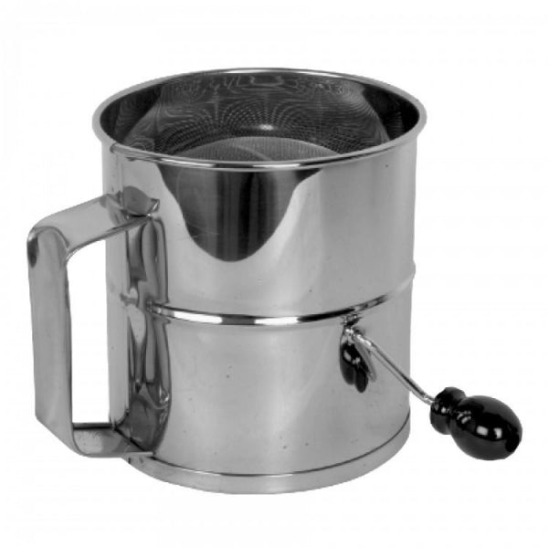 8 Cup Stainless Steel Flour Sifter - Kitchway.com