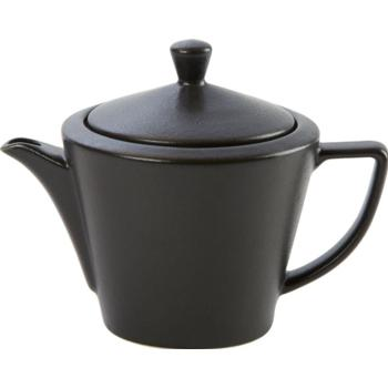 Porcelite Seasons Graphite Conic Teapot 50cl / 18 oz- Pack of 6
