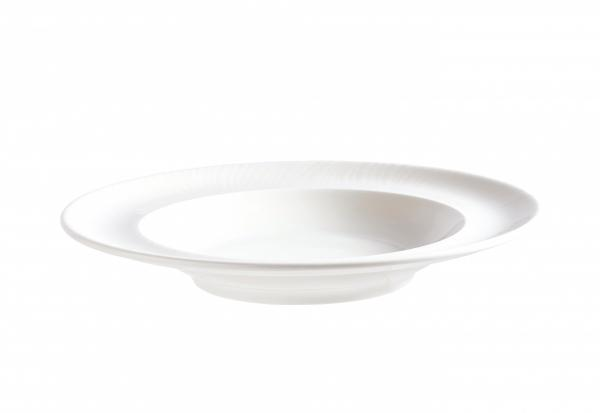 Academy Lara Curve Soup Plate - Kitchway.com