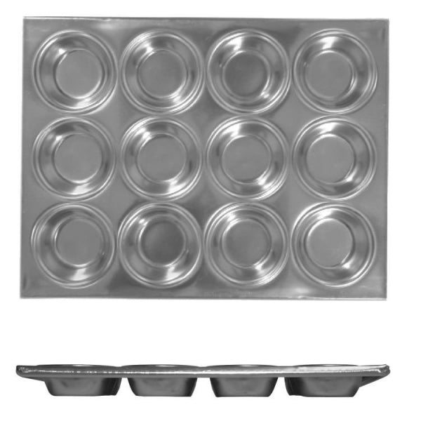 Aluminium Muffin Pan - Kitchway.com