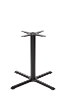 Black cruciform table base - Large - Dining height - 730 mm