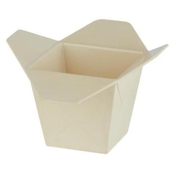 Bamboo Noodle Box - 17x17x11 cm - Kitchway.com