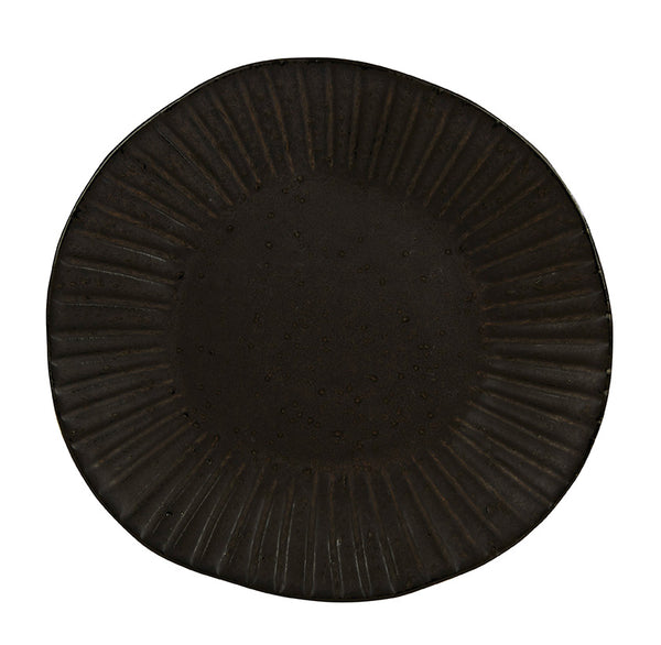 "Rustico Impressions Flint Dinner Plate 28.5cm / 11"" - Pack of 6"