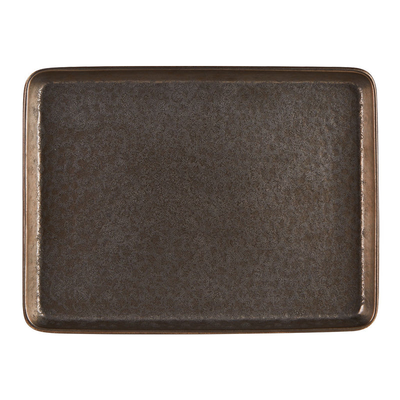 "Rustico Aztec Rectangular Tray 25 x 19cm / 9 ¾"" x 7 ½""  - Pack of 6"