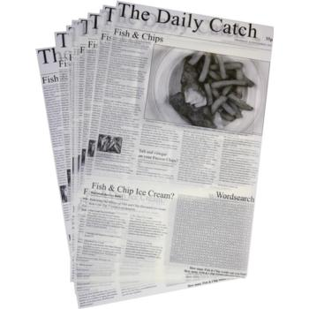 Daily Catch Greaseproof sheets - Box Of 500