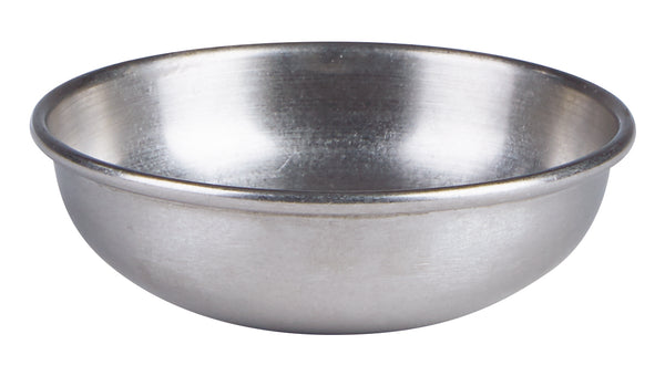 "Antique Steel Bowl 8cm/3""  2.5oz/7cl - Pack of 6"
