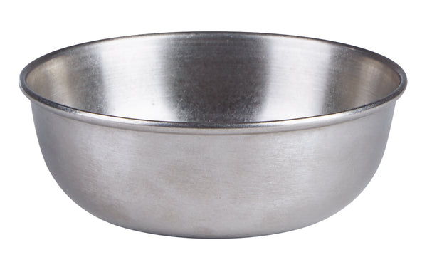 "Antique Steel Bowl 11.5cm/4.5""  10oz/28.5cl - Pack of 6"