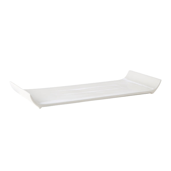Fine Bone China Rectangular 37 x 15.5cm Plate - Pack of 6