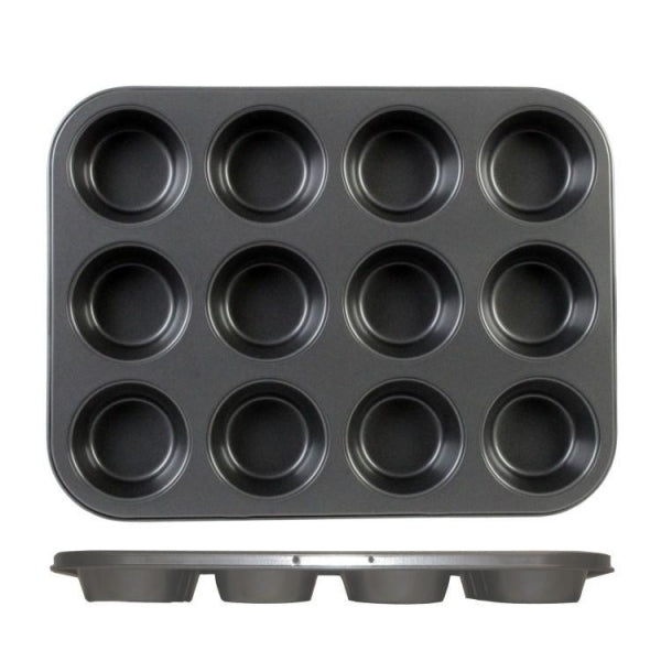 Carbon Steel Muffin Non-Stick Pan - Kitchway.com