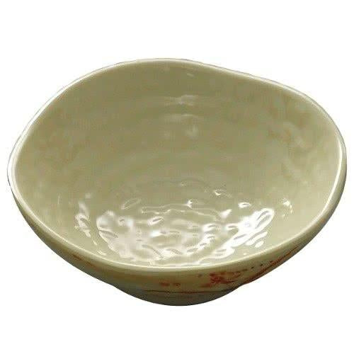 Gold Orchid Melamine Wave Rice Bowl-12/Case - Kitchway.com