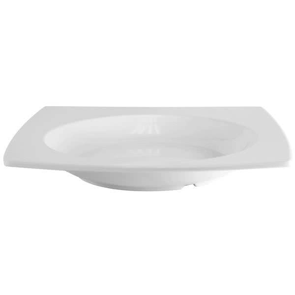 Classic Square Shape Melamine Pasta Bowl-12/Case - Kitchway.com