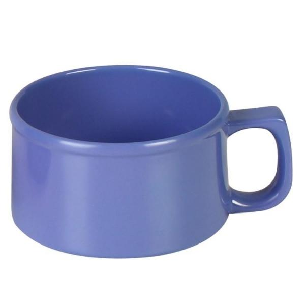 Smooth Melamine Soup Mug- 12/Case - Kitchway.com