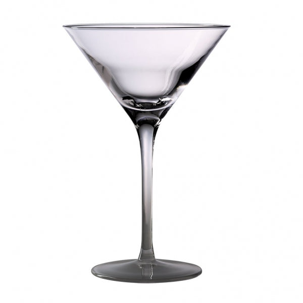 Cocktail Glass Flourescent Bottom-240ml - Kitchway.com