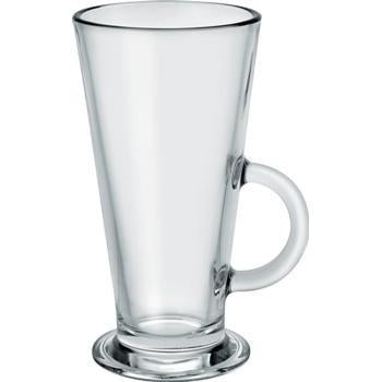 Conic Latte Glass - 280ml - Kitchway.com